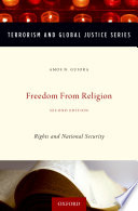 Freedom from Religion  : Rights and National Security