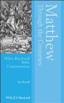 Matthew Through the Centuries [Pdf/ePub] eBook