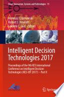 Intelligent Decision Technologies 2017