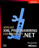Applied XML Programming for Microsoft NET