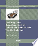Training and Development of Technical Staff in the Textile Industry Book