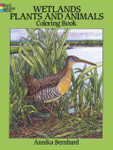 Wetlands Plants and Animals Coloring Book