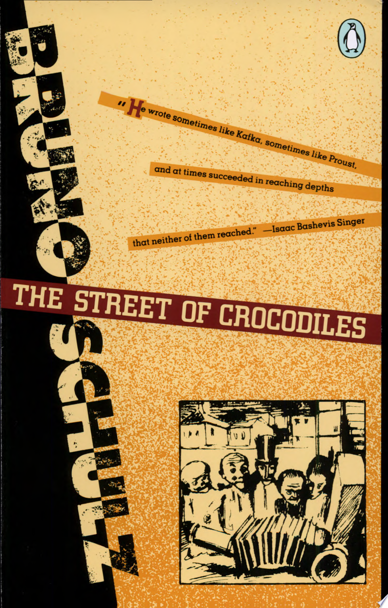 The Street of Crocodiles banner backdrop