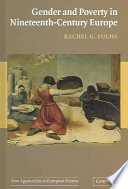 Gender And Poverty In Nineteenth Century Europe Book PDF