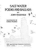 John Masefield Books, John Masefield poetry book