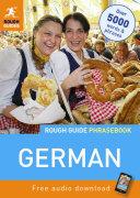 Rough Guide Phrasebook  German