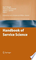 Handbook Of Service Science Book PDF