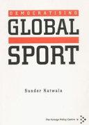Democratising Global Sport