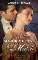 The Major Meets His Match  Mills   Boon Historical   Brides for Bachelors  Book 1