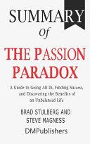 Pdf Summary of The Passion Paradox
