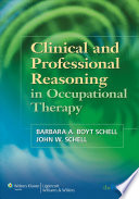 Clinical And Professional Reasoning In Occupational Therapy Book PDF