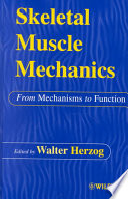 Skeletal Muscle Mechanics Book
