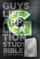 Guys Life Application Study Bible NLT Iridium Book