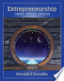 Bundle: Entrepreneurship: Theory, Process, and Practice, 9th Edition + CourseMate with Live Plan, Career Transitions 2. 0 Printed Access Card