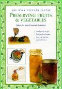 Preserving Fruits   Vegetables