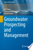 Groundwater Prospecting And Management Book PDF