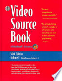Video Sourcebook  : A Guide to Programs Currently Available on Video in the Areas Of: Movies/entertainment, General Interest/education, Sports/recreation, Fine Arts, Heal