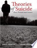 THEORIES OF SUICIDE