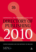 Directory of Publishing 2010