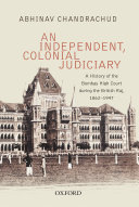 Pdf An Independent, Colonial Judiciary Telecharger