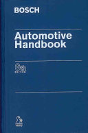 BOSCH Automotive Handbook Book