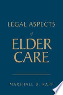 Legal Aspects Of Elder Care