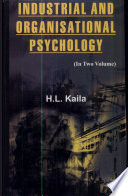 Industrial And Organisational Psychology (2 Vols.)