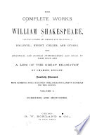The Complete Works of William Shakespeare Book