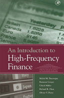 An Introduction to High Frequency Finance