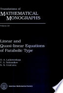 Linear and Quasi-linear Equations of Parabolic Type