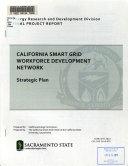 California Smart Grid Workforce Development Network Strategic Plan