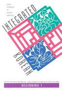 Integrated Korean: Beginning 1 - Band 1