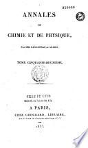 Annales de chimie
