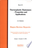 Thermoplastic Elastomers Book