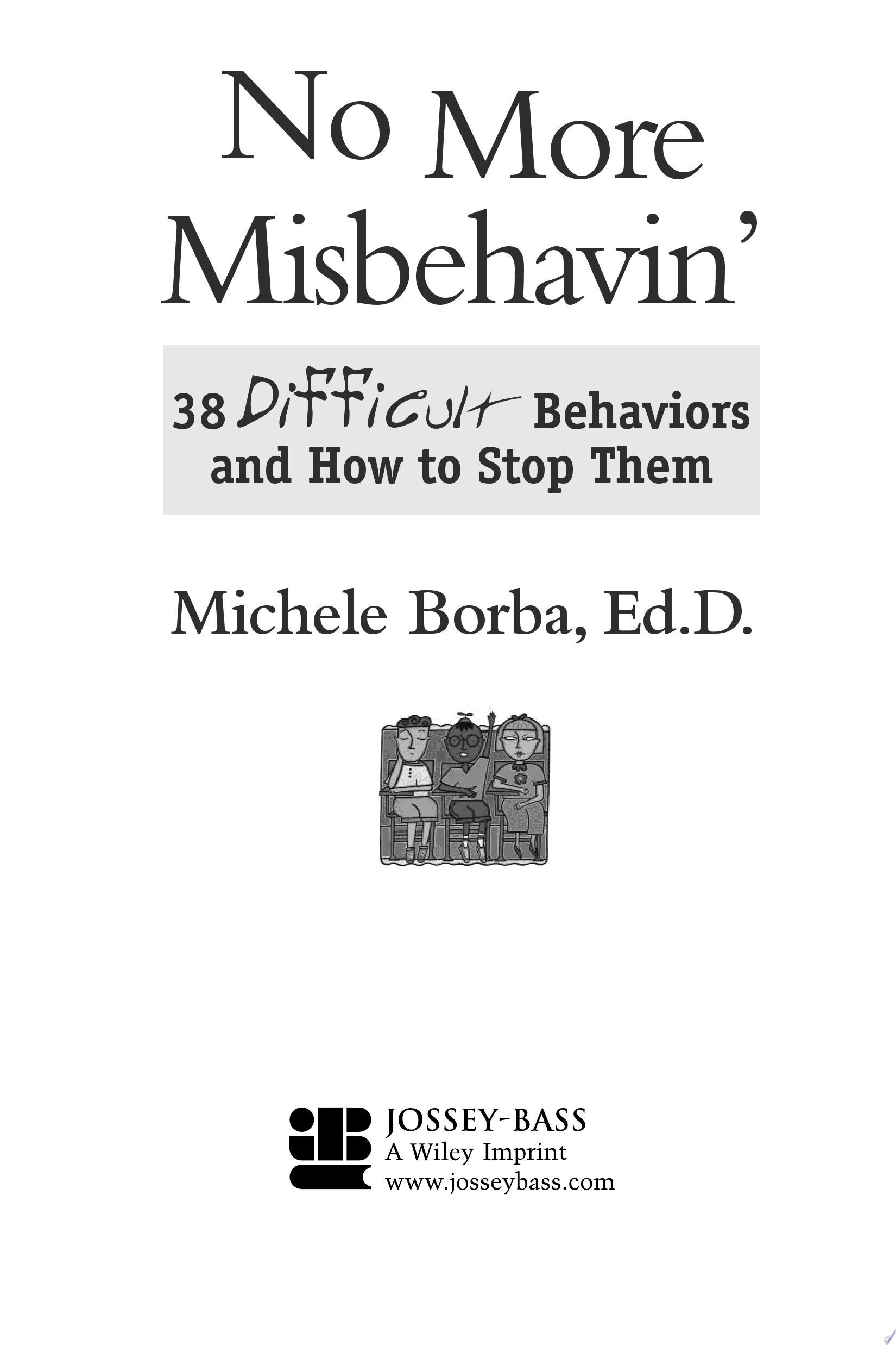 No More Misbehavin