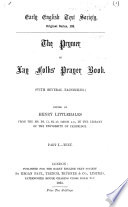 The Primer; Or, Lay Folks' Prayer Book: Text