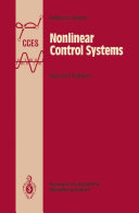 Nonlinear Control Systems