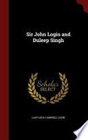 Sir John Login and Duleep Singh
