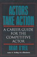 Actors Take Action Book