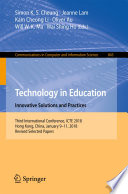 Technology in Education  Innovative Solutions and Practices