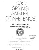 Spring Annual Conference Proceedings