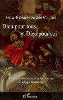 Pdf Dieu pour tous et Dieu pour soi Telecharger