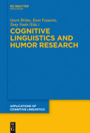 Pdf Cognitive Linguistics and Humor Research Telecharger
