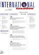 The Journal of International Taxation