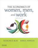 Cover of The Economics of Women, Men, and Work