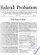 Federal Probation Book PDF