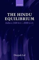 The Hindu Equilibrium