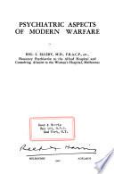 Psychiatric Aspects of Modern Warfare