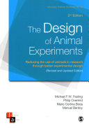 The Design of Animal Experiments Book