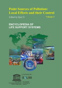 Point Sources of Pollution  Local Effects and their Control   Volume II